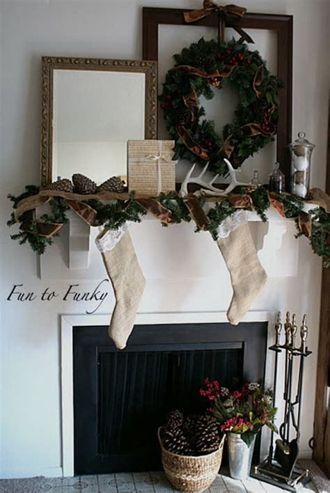inspiring christmas decor ideas 48 inspiring holiday fireplace mantel decorating ideas