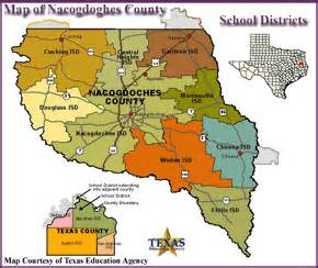 nacogdoches county school districts