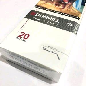 Dunhill Cut Mild Isi 20 Batang jual rokok dunhill dunhil putih 20 batang ecer eceran perbungkus di lapak numero1dotnet