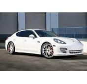 White On Porsche Panamera  Forgiato