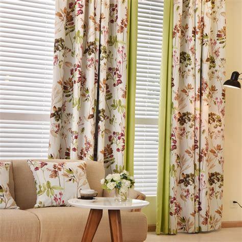 gordijnen cer floral curtains modern country curtains blackout curtains