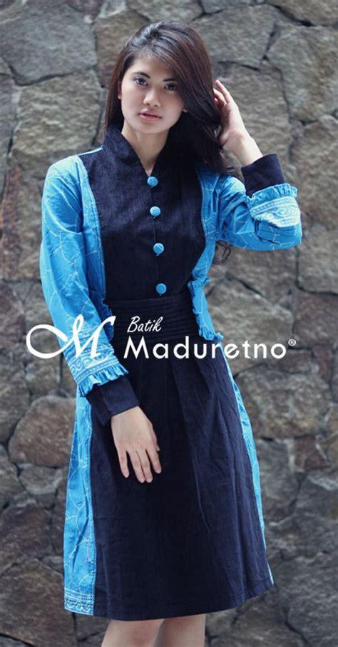 Maxi Gamis Maxy Roselins Batik Brown busana kerja wanita modern berbahan batik tulis madura visit our website batikmaduretno