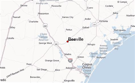 beeville texas map beeville location guide