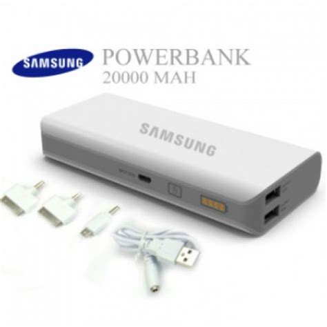 Powerbank Bank Samsung 9000mah 1 Output 2 Kabel Diskon samsung power bank of 20 000 mah