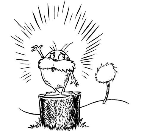 Free Printable Lorax Coloring Pages For Kids The Lorax Coloring Pages