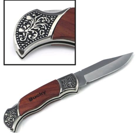 engraved wood handle knives pocket knives and tools