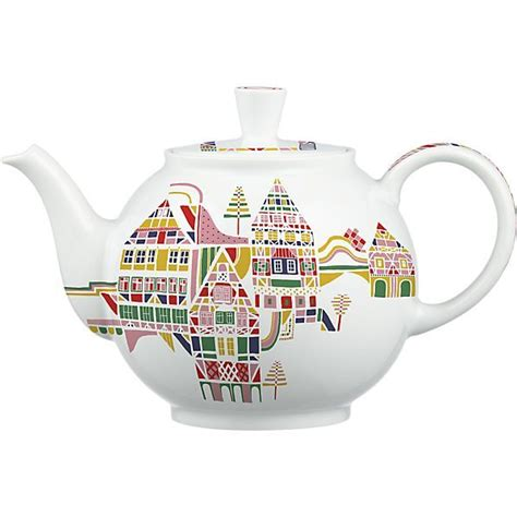 crate and barrel tea pot julia rothman illustrated teapot for crate barrel