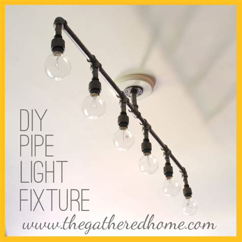 How To Make A Pipe Light Fixture How To Make A Fabulous Plumbing Pipe Light Fixture