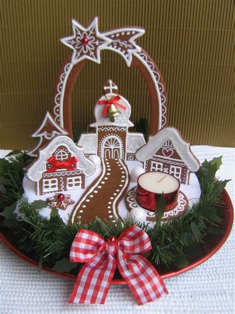 gingerbread centerpiece gingerbread houses pinterest