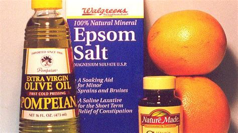 Epsom Salt And Olive Detox epsom salt olive grapefruit vitamin c
