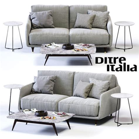 Ditre Italia Furniture by 3d Model Ditre Italia Elliot 2 Er Sofa Vr Ar Low Poly