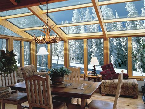 Wooden Sun Room Sunrooms And Conservatories Decorating And Design Ideas