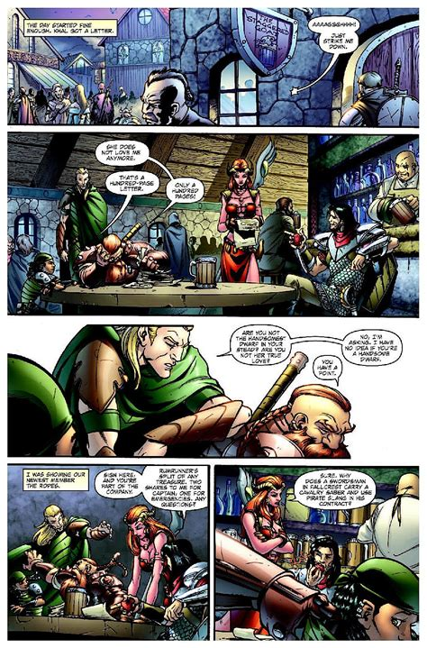dungeons and dragons comic by idw s dungeons dragons will make you save versus awesome