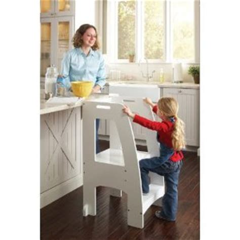 Kitchen Helper Safety Tower Step Stool by Great Guidecraft Kitchen