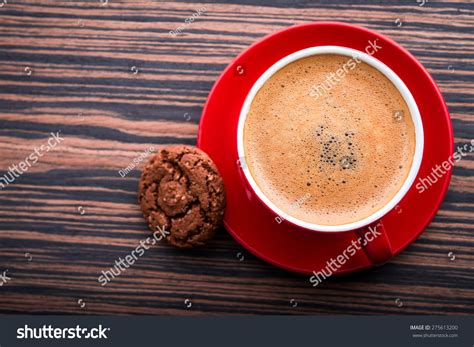 top of coffee cup view top coffee cup stock photo 275613200