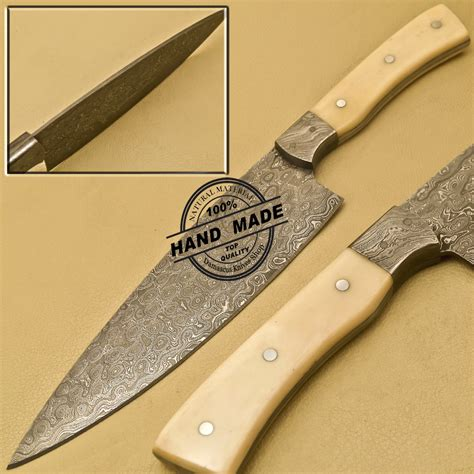 kitchen chef knives damascus kitchen knife custom handmade damascus steel