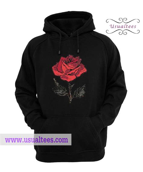Hoodie White Flower flower hoodie