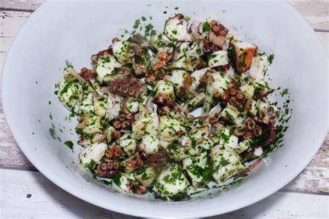 cucinare il polpo surgelato insalata di polpo surgelato