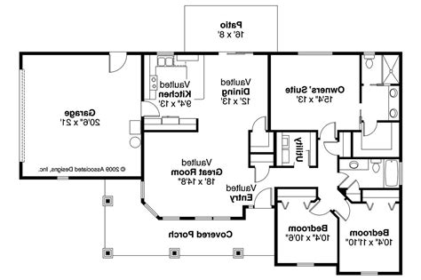 House Floor Plans Bungalow House Plans Strathmore 30 638 Associated Designs
