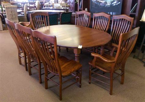 nichols and table nichols dining room table and chairs consignment