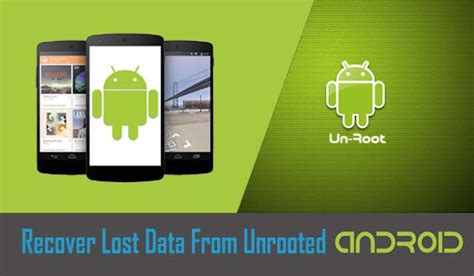reset android without losing root how to recover lost data from unrooted android phone
