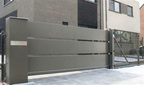zaunsystem modern vario zaun - Moderne Hoftore