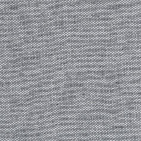 Grey Fabric by Kaufman Essex Linen Blend Yarn Dyed Steel Discount