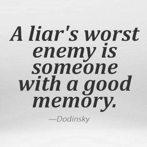 Liar Quotes In