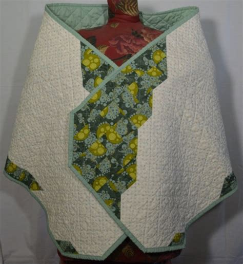 Quilted Shawl Pattern by I Can Do All Things Wings Quilted Prayer Shawl Aftcra