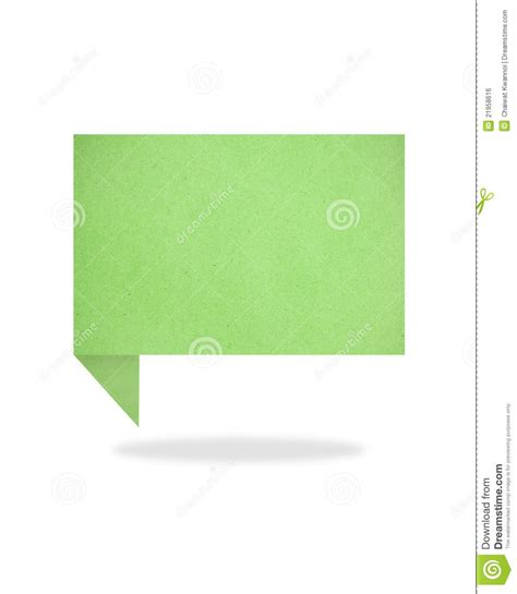 Green Craft Paper - green origami talk tag recycled paper craft stick royalty
