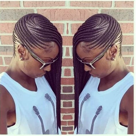Side Cornrow Hairstyles by 25 Best Ideas About Side Cornrows On Braids