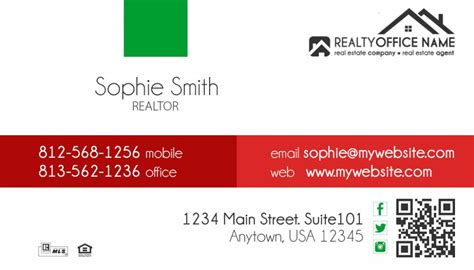 real estate business cards template 18 business cards
