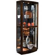 Alamos Console Curio Cabinet Curio Cabinets Storage Organization For The Home Jcpenney