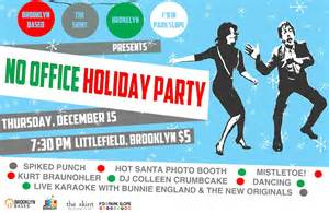 no office holiday party no problem presenting the no
