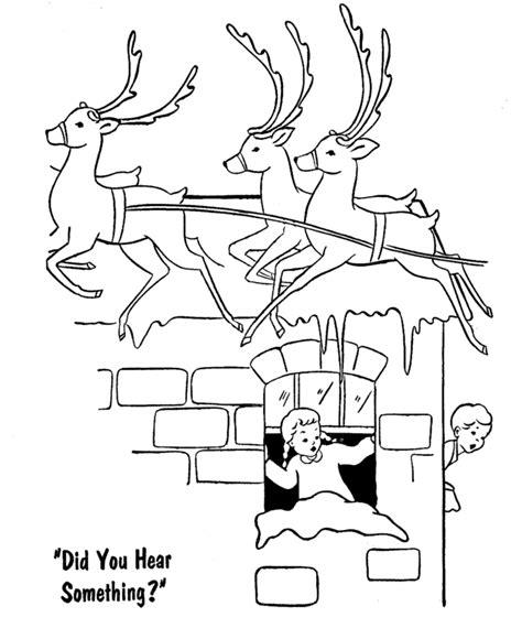 reindeer coloring pages pdf santa s reindeer coloring pages santa s reindeer on the