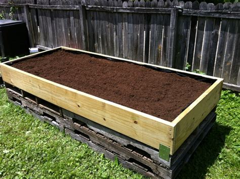how to fill a raised garden bed build a simple elevated garden bed food galleries
