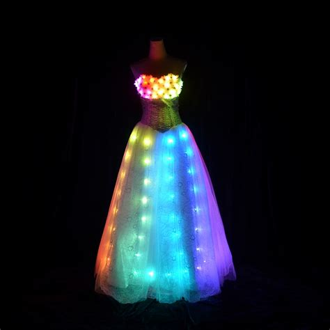 led lights for clothing aliexpress com buy led dress luminous princess