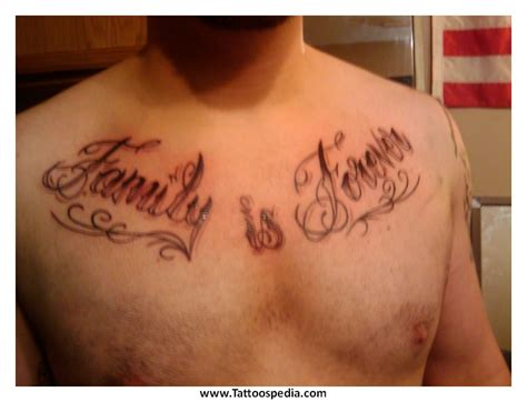 famous tattoo quotes for men chest quotes quotesgram