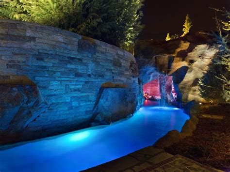mustang swimming pool hgtv cool pools mustang pool waterfall grotto