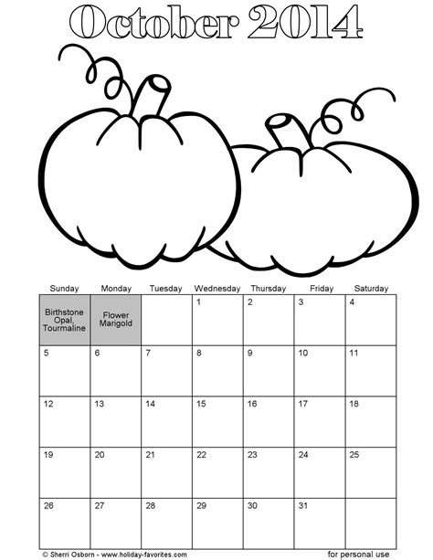 education world calendar october coloring page search