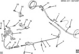 Emergency Brake System Diagram 96 Bonneville Se Parking Brake Pedal Stuck To Floor