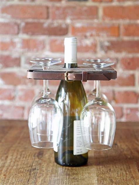 rustic style wine glass holder danmade