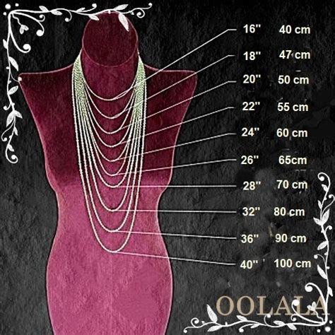 necklace length guide girly things i need to learn