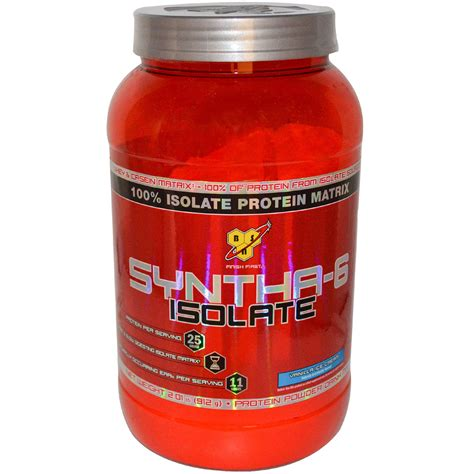 6 protein categories bsn syntha 6 isolate protein powder drink mix vanilla