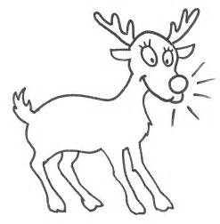 reindeer coloring page animals town animal color
