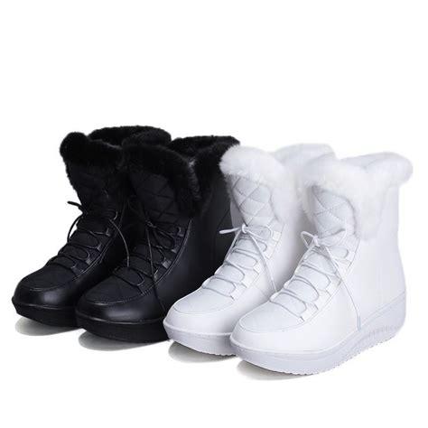 Platform Snow Boots new 2017 snow boots platform women s winter shoes