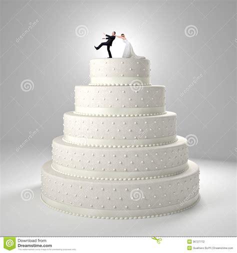 Hochzeitstorte Lustig by Lustige Hochzeitstorte Stock Abbildung Illustration