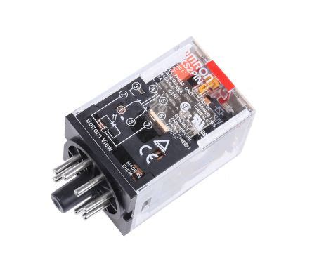 Relay Omron Mks2p 8pin mks2pin ac24 8 pin dpdt relay w led 10a 24vac coil omron