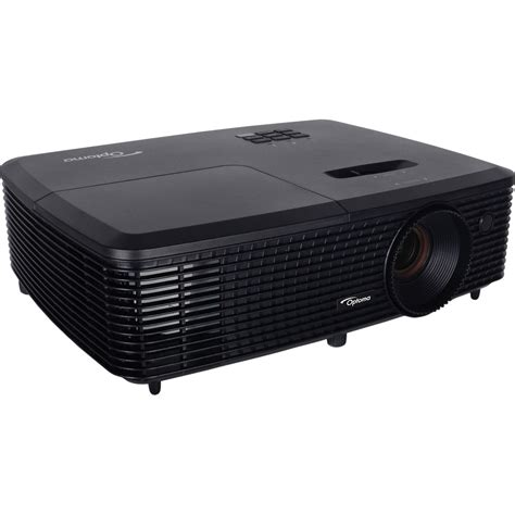 Lcd Projector Optoma optoma technology s341 3500 lumen svga dlp projector s341 b h