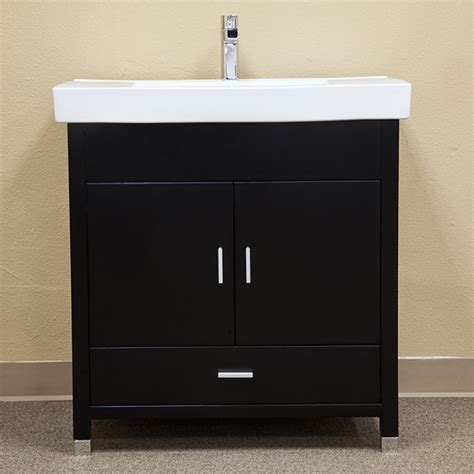 32 inch bathroom vanity cabinet 32 inch black single sink bathroom vanity with integrated